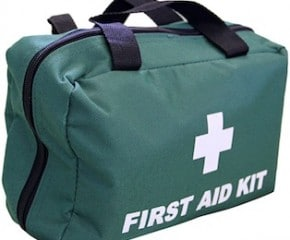 First aid equipment – Supply